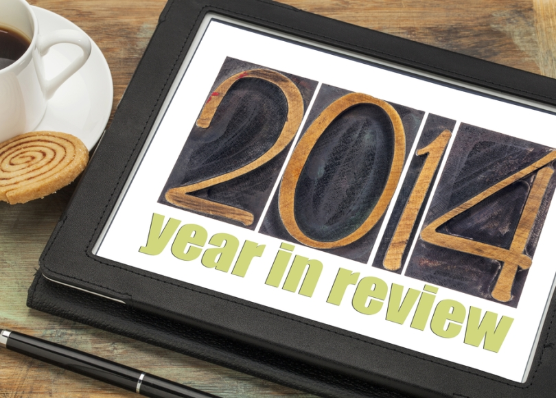 "Wood type ""2014 Year in Review"" refers to review of progress against cancer"