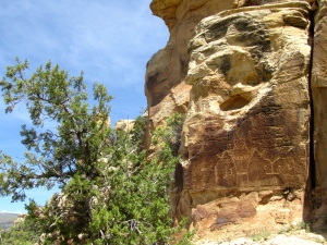 Utah rock art site